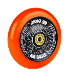 Kolečko Eagle Standard Hollowtech 115mm Black/Orange