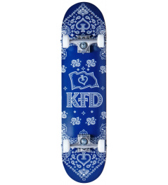 "Skateboard KFD Bandana Komplet 7.75"" Navy"