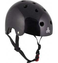 Helma Triple Eight Brainsaver XS-S Black Glossy