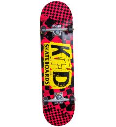 "Skateboard KFD Ransom Komplet 8.25"" Červená"