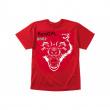Tričko Bestial Wolf červené