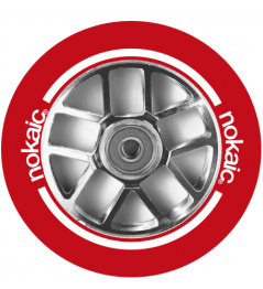 Kolečko Nokaic Spoked 110mm Red