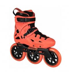 Kolieskové korčule Powerslide Imperial Megacruiser 125 Neon Orange