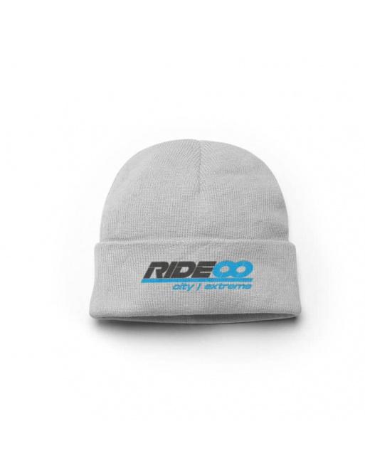 Rideoo Logo Beanie Grey