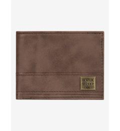 Peněženka Quiksilver New Stitchy Tri-Fold 900 csd0 chocolate brown 2020 vell.L