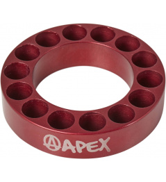 Headset spacer Apex 10mm červený