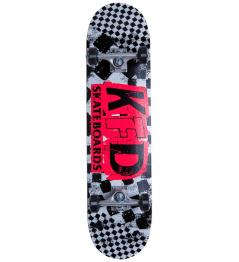 "Skateboard KFD Ransom Komplet 8"" Bílá"