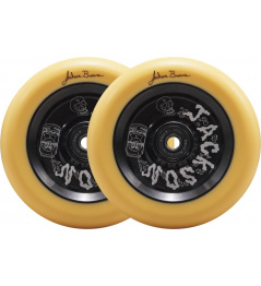 Kolečka North Signature 110x24mm Jackson Brower Pastel Orange & Matte Black