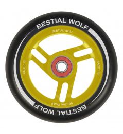 Koliesko Bestial Wolf Race 110 mm čierno žlté