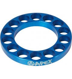 Headset spacer Apex 5mm modrý