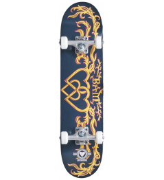 """Skateboard Heart Supply Bam 7.25"""" Bamly Black"""