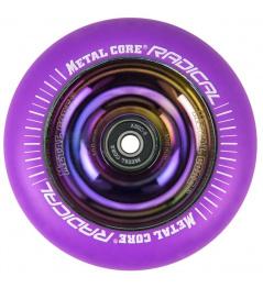 Kolečko Metal Core Radical 100 mm FLUORESCENT fialové