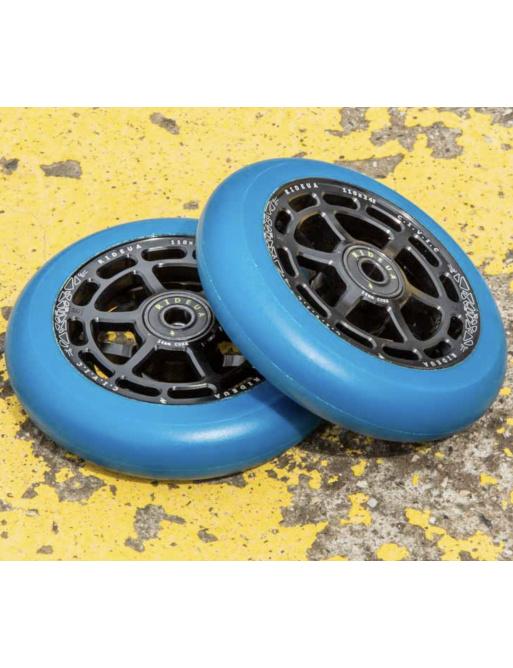 Kolečka UrbanArtt Civic 110x24mm Black/Arctic Blue 2ks