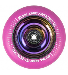 Metal Core Radical Rainbow 110 mm koliesko ružové