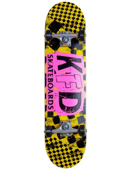 """Skateboard KFD Ransom Komplet 7.75"""" Žlutá"""