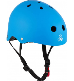 Dětská helma Triple Eight Lil 8 Staab Neon Blue