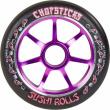 Koliesko Chopsticks Sushi Rolls 110 mm čierno fialové