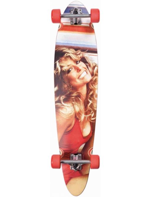 Longboard Dusters Farrah Fawcett Longboard red vell.40