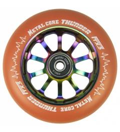 Metal Core Thunder Rainbow 110 mm koliesko oranžové