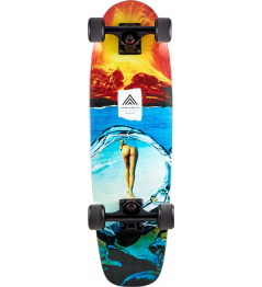 "Longboard Prism Biscuit Cruiser 28"" Space Bat Killer"