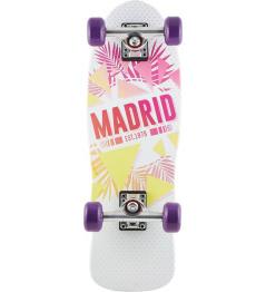 "Longboard Madrid Oasis Cruiser 8.25"" bílý"