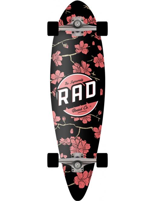 "RAD Mini Pintail Complete Longboard (32"" | Cherry Blossom)"