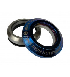 Headset Striker Integrated  Blue chrome