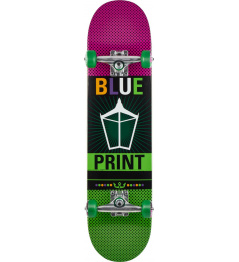 "Skateboard Blueprint Pachinko 7.875"" Green"