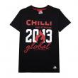Tričko Chilli Global černé
