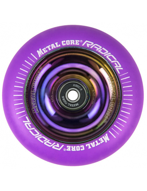 Metal Core Radical Rainbow 110 mm koliesko fialové