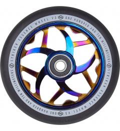 Kolečko Striker Essence V3 Black 110mm Blue Chrome