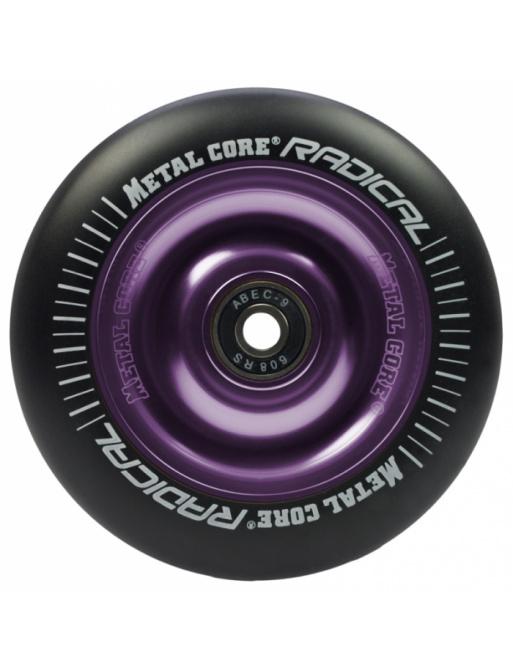Metal Core Radical 100 mm koliesko čierno fialové