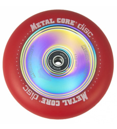Metal Core Disc 110 mm koliesko červené