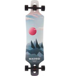 """Longboard Madrid Lifestyle Drop Through 39"""" Luna"""