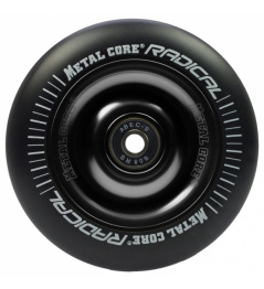Metal Core Radical 100 mm koliesko čierno čierne