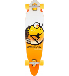 "Longboard Ocean Pacific Grom 37"" Yellow"