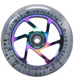 Kolečko Striker Lux Clear 110mm Rainbow