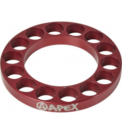 Headset spacer Apex 5mm červený
