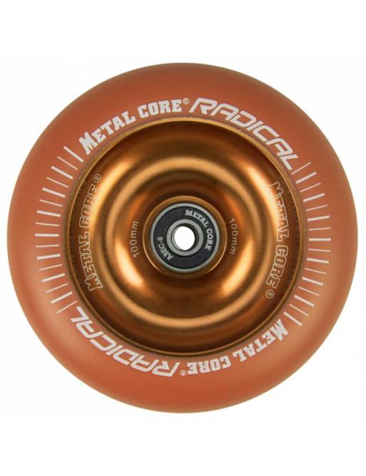 Metal Core Radical Fluorescent 110 mm koliesko oranžové
