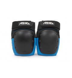 Chrániče kolen REKD Ramp Black/Blue L