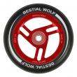 Koliesko Bestial Wolf Race 110 mm čierno červené