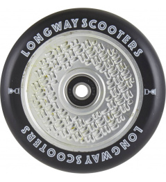 Kolečko Longway FabuGrid 110mm Matt Silver
