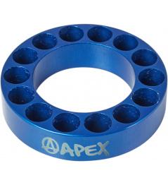 Headset spacer Apex 10mm modrý
