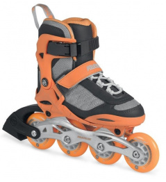 Detské kolieskové korčule Powerslide Phuzion Galaxy Neon Orange