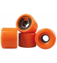 AOB kolieska 4 ks oranžová
