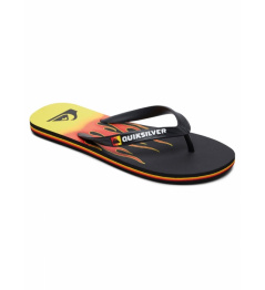 Žabky Quiksilver Molokai Fire black/yellow/red 2019 vell.EUR45