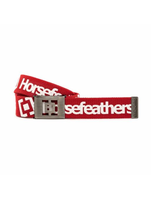 Pásek Horsefeathers Idol red 2020/21