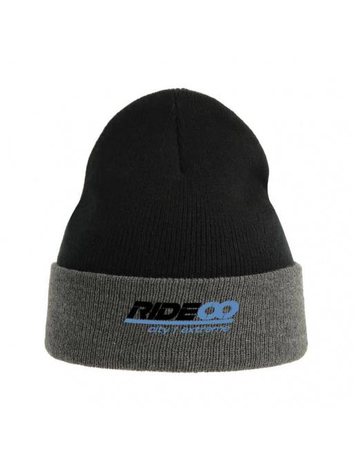 Rideoo Logo Beanie Black/Grey