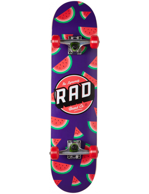 "RAD Dude Crew Skateboard Komplet (7.25"" | Watermelon)"