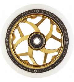 Kolečko Striker Essence V3 White 110mm zlaté